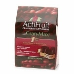 Enzymatic Therapy ActiFruit Cranberry Supplement with Cran-Max Soft Chews- 20 ea