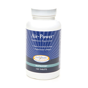 Enzymatic Therapy Air-Power Guaifenesin Expectorant- 100 ea