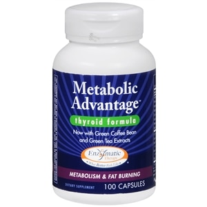 Enzymatic Therapy Metabolic Advantage, Capsules- 100 ea