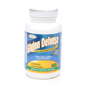 Enzymatic Therapy Gluten Defense Ultracaps- 120 ea