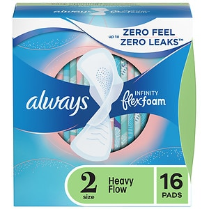 Always Infinity Heavy Flow Pads with Flexi-Wings
