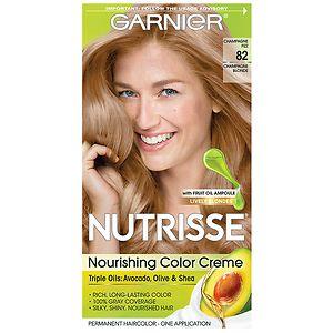 Garnier Nutrisse Permanent Haircolor, Champagne Blonde 82 (Champagne Fizz)