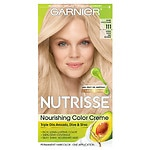 Garnier Nutrisse Permanent Haircolor, Extra-Light Ash Blonde 111 (White Chocolate)- 1 ea