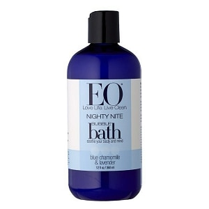 EO Nighty Nite-Blue Bubble Bath, Chamomile & Lavender