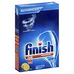 Finish Powder Dishwasher Detergent, Lemon- 75 oz