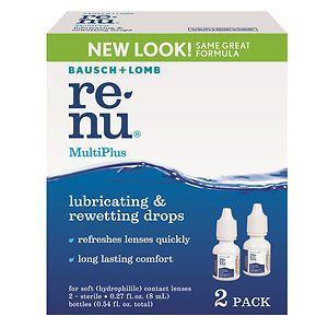 ReNu MultiPlus Lubricating & Rewetting Drops- .27 oz