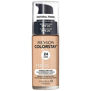 Revlon Colorstay for Normal/Dry Skin Makeup with SoftFlex, Ivory 110