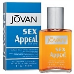 Jovan Sex Appeal for Men, Aftershave/Cologne- 4 fl oz