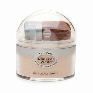 Physicians Formula Mineral Wear Talc-Free Loose Powder, Creamy Natural 2451