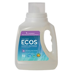 Earth Friendly Products ECOS Ultra Concentrated 2X Laundry Detergent, Lavender