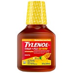 Tylenol Cough Warming Daytime Liquid, Honey Lemon