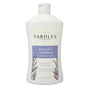Yardley of London Luxurious Hand Soap Refill, Flowering English Lavender
