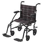 Drive Medical Fly Lite Ultra Lightweight Transport Wheelchair,