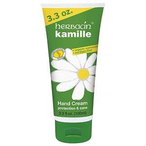 Herbacin Cosmetics Kamille Glycerin Hand Cream, Tube&nbsp;