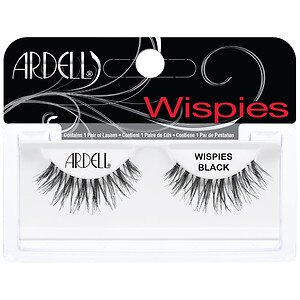Ardell Fashion Lashes, Wispies Black- 1 pr