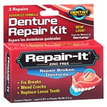 Dentist On Call Repair-It Denture Repair Kit, Zinc Free- 1 kit