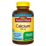 Nature Made Calcium 600 mg with Vitamin D, Liquid Softgels
