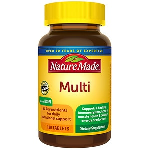 Nature Made Multi Complete with Iron, Tablets- 130 ea