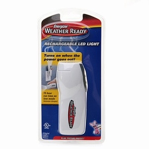 Energizer Lighting Products Weather Ready Rechargeable LED Light- 1 ea