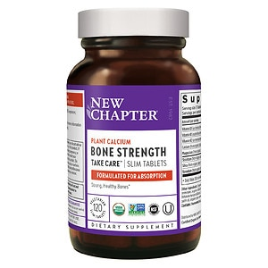 New Chapter Bone Strength Take Care, Slimline Tablets- 120 ea