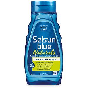 Selsun Blue Naturals Dandruff Shampoo, Itchy Dry Scalp, Citrus Blast