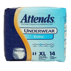 Attends Underwear Extra Absorbency, AP0740, X-Large