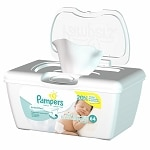 Pampers Sensitive Wipes, Pop-Up Tub