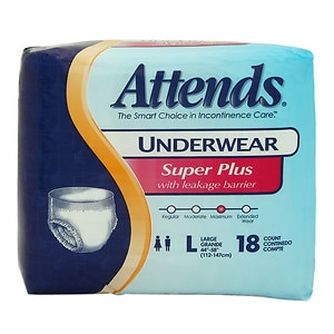 Attends Underwear Complete, APP0730, Large