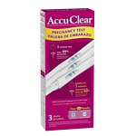 Accuclear Pregnancy Test- 3 ea