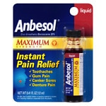 Anbesol Maximum Strength Liquid- .41 fl oz