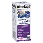 Children's Dimetapp Nighttime Cold & Congestion, Grape- 4 oz