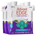 EAS Advantage Carb Control Ready to Drink, 4 pk, French Vanilla- 11 oz