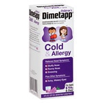 Children's Dimetapp Cold & Allergy, Grape- 8 fl oz