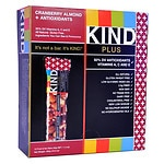 KIND Plus Nutrition Bars, Cranberry & Almond + Anitoxidants