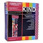 KIND Plus Nutrition Bars, Cranberry & Almond + Antioxidants- 1.4 oz