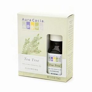 Aura Cacia Pure Essential Oil, Cleansing Tea Tree- .5 fl oz