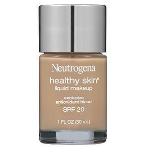 Neutrogena Healthy Skin Liquid Makeup SPF 20, Natural Tan- 1 fl oz