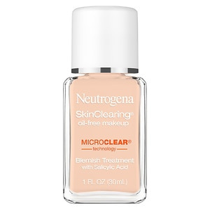 Neutrogena SkinClearing SkinClearing Oil-Free Liquid Makeup, Medium Beige