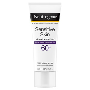 Neutrogena Sunblock Lotion, Sensitive Skin, SPF 60