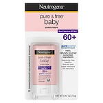 Neutrogena Pure & Free Baby Sunblock SPF 60+, Stick