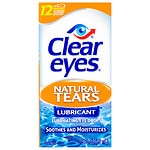 Clear eyes Natural Tears Lubricant- .5 fl oz