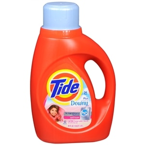 Tide Liquid Detergent plus a Touch of Downy, High Efficiency, 24 Loads, April Fresh&nbsp;
