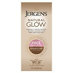 Jergens Natural Glow Healthy Complexion Daily Facial Moisturizer, Medium to Tan Skin Tone