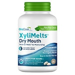 XyliMelts Discs for Dry Mouth, Mild Mint