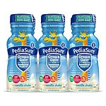 PediaSure Complete, Balanced Nutrition Shake, 8 fl oz Bottles, Vanilla- 6 ea