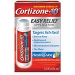 Cortizone 10 Hydrocortisone Anti-Itch Liquid, Easy Relief Applicator- 1.25 fl oz