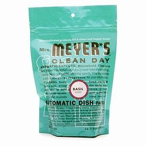 Mrs. Meyer's Clean Day Automatic Dishwashing Packs, 20 Loads, Basil- 12.7 oz