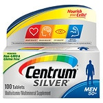 Centrum Silver Men 50+, Multivitamin, Tablets