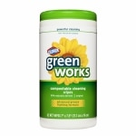 Clorox Green Works Natural Compostable Cleaning Wipes, Original