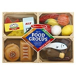 Melissa and Doug Food Groups Play Food Set, Ages 3+